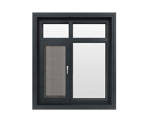 SC115窗纱一体穿条平开窗