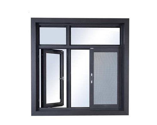 PC80普通平开窗